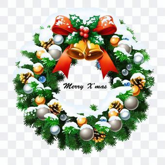 聖誕花環雪 2