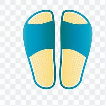 健康涼鞋(藍色)