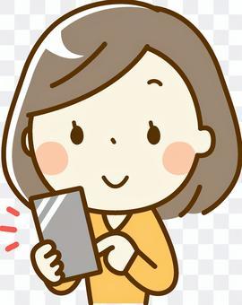 鮑勃女人_智能手機
