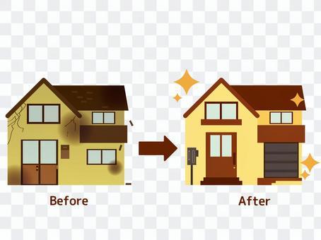 房子重建改造