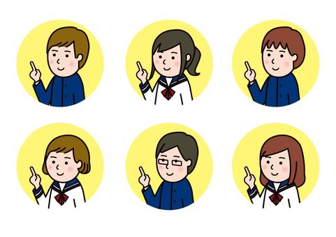 Point Sailor & Gakuran Student Color