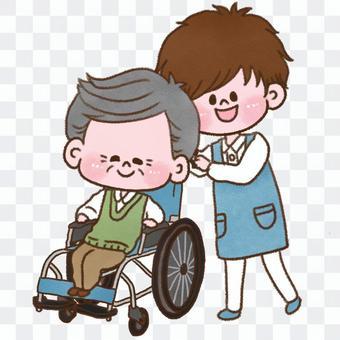 照顧者和爺爺