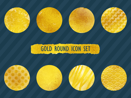 Icon material: Circle (gold)