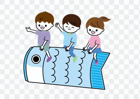 兒童節鯉魚旗