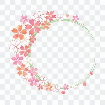 櫻花_圓框