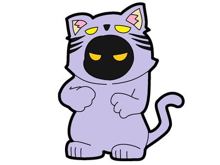 紫鬼貓服裝鬼