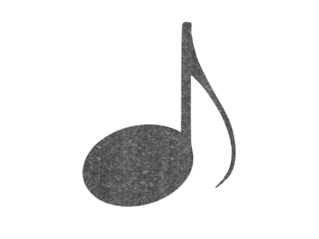 Musical note (eight-part note)