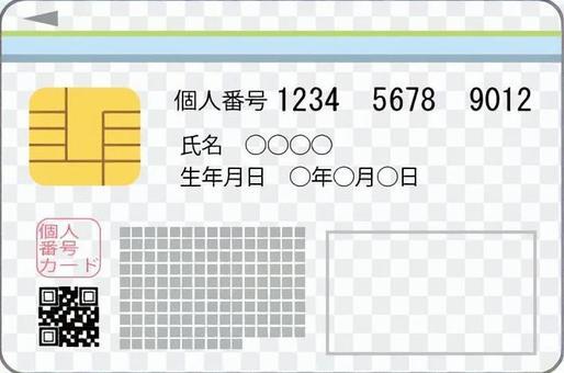 我的號碼卡