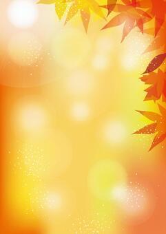 秋葉背景垂直05