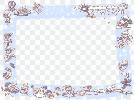 冬天框架5