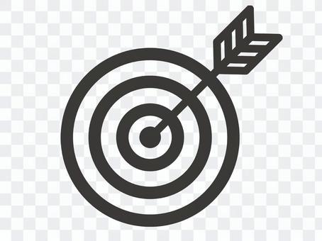目標箭頭圖標