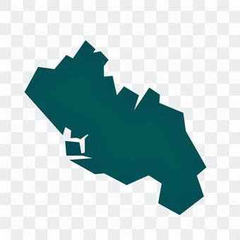 千葉市の簡易マップ