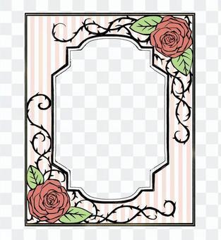 Book Roses Frame 01