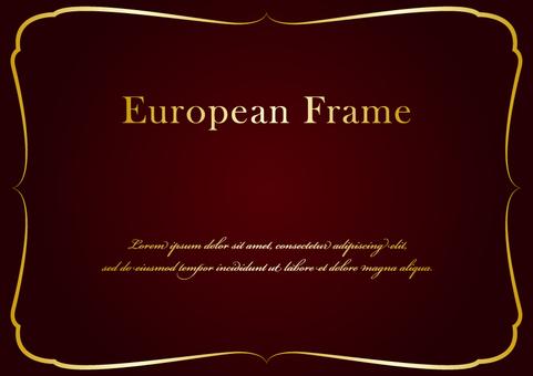 歐洲框架007