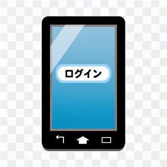 智能手機屏幕(登錄屏幕)