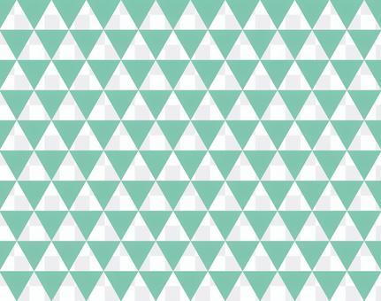Triangular pattern <mint>