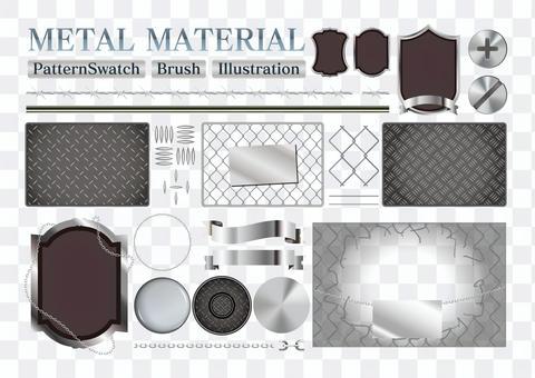 金屬圖案及刷子SET