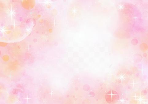 背景材料030粉紅色的宇宙