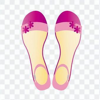 涼鞋(粉紅色)