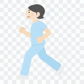 Nurse (run)