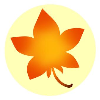 秋葉(橙色)圖標