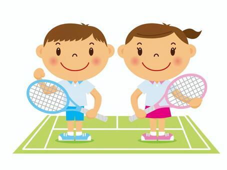 """网球吧的""""!"""