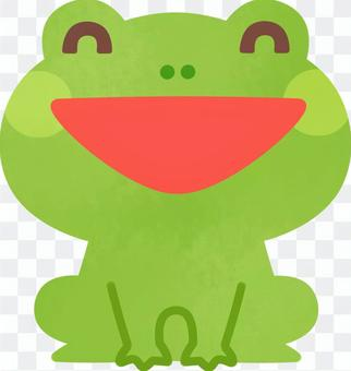 Smile frog