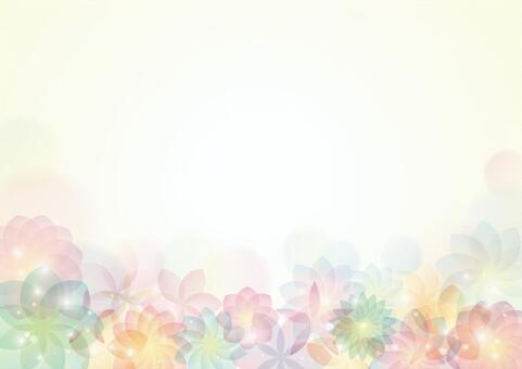 優雅的花背景