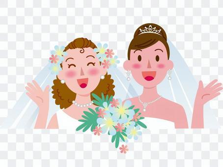 女性同士の結婚-3