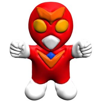 鬆散的英雄玩具變形CG