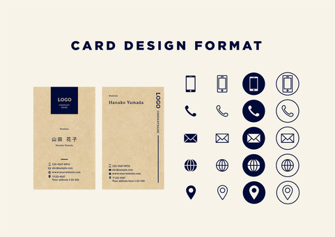 Business card design format 07