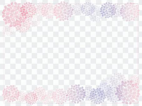 繡球花的框架5