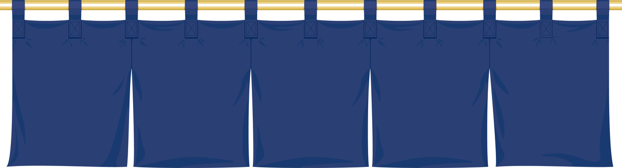 Navy blue goodwill frame Japanese-style store image