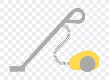 簡單的吸塵器圖標