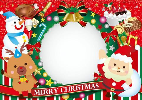 黨框架與聖誕花環