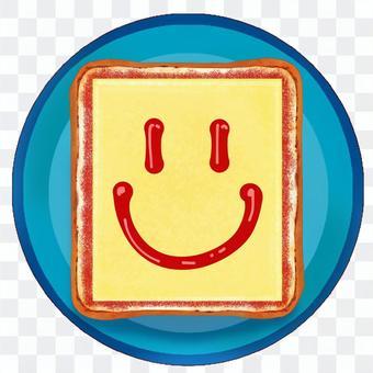 にこにこ チーズ トースト