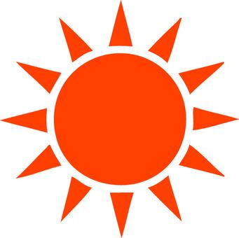 简单的太阳标记
