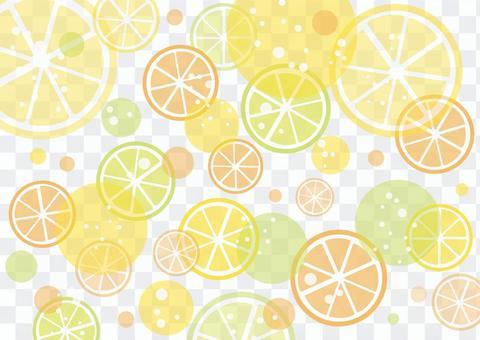簡單的柑橘背景素材
