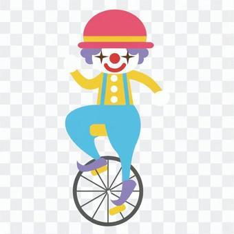 獨輪車小丑