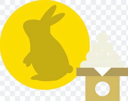 月亮05(月亮和兔子,dango)