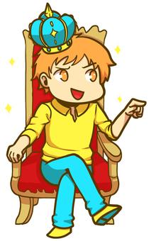 感覺像國王的男人