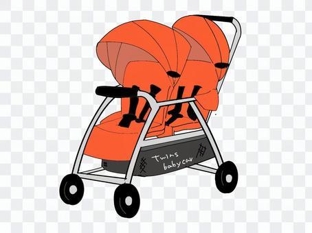 雙胞胎嬰兒車