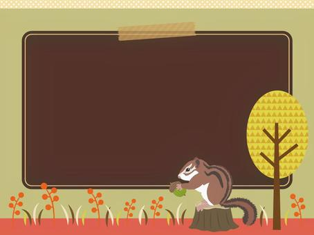 Autumn's horizontal background material 8