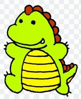 恐龙填充动物