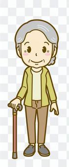 Female (elderly): C_wait 01FS
