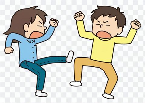 男人和女人打架2