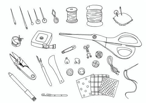 ㊹筆縫紉工具