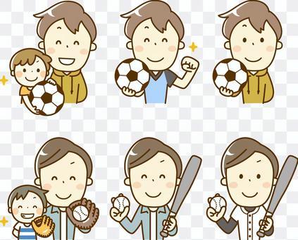 Sports summary _ Soccer and baseball