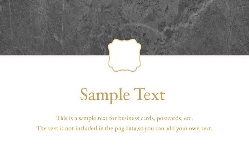 Simple elegant frame_marble
