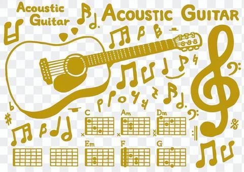 Acoustic guitar set 2